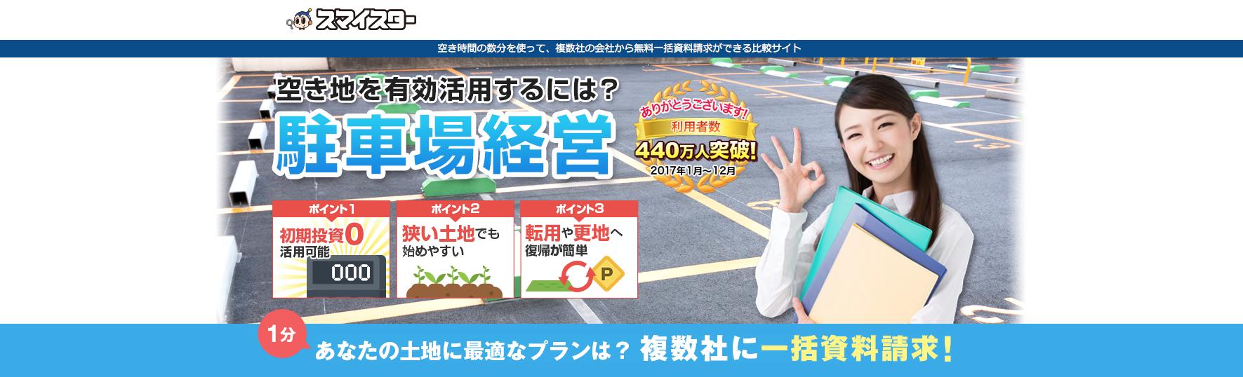 福岡の土地駐車場運営シミュレーションマイスター